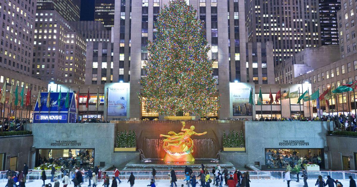 Rockefeller Center Christmas Tree Lighting | Hotel 48LEX ...